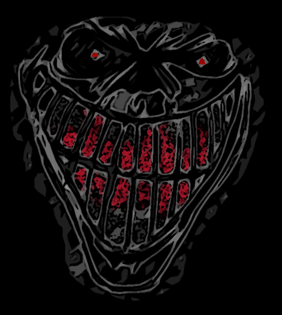 psychotic smile by bodhithewicked on deviantart