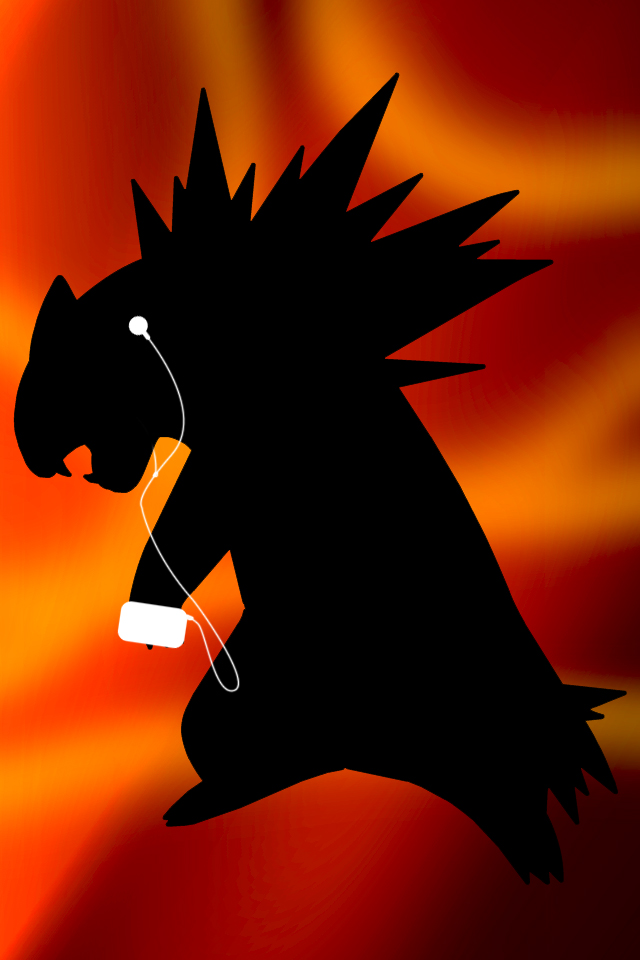 Typhlosion IPhone Wallpaper By Andrewf92