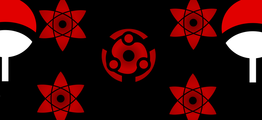 Uchiha Clan Symbol Wallpaper