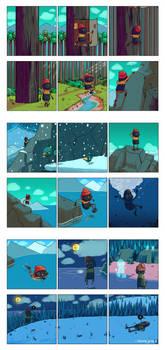 BB's adventure.