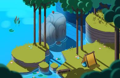 lakeside camping by IndianaJonas