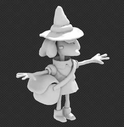 Clay Witch by IndianaJonas