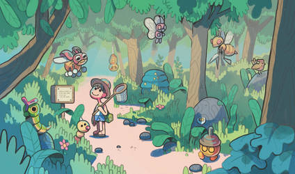 Viridian Forest by IndianaJonas