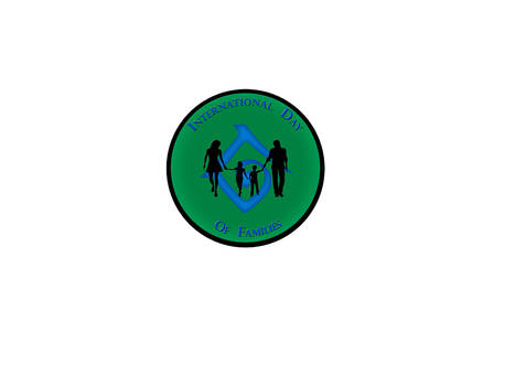 International Day of Families, logo design