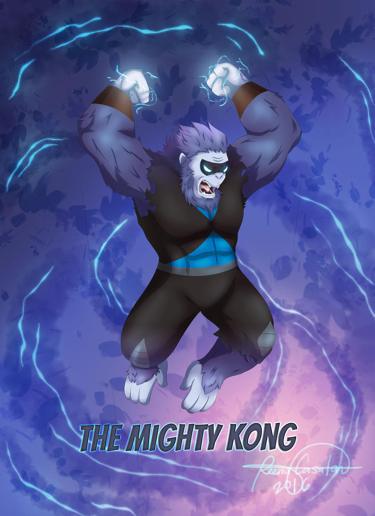 Mighty Kong by truebeliever1995