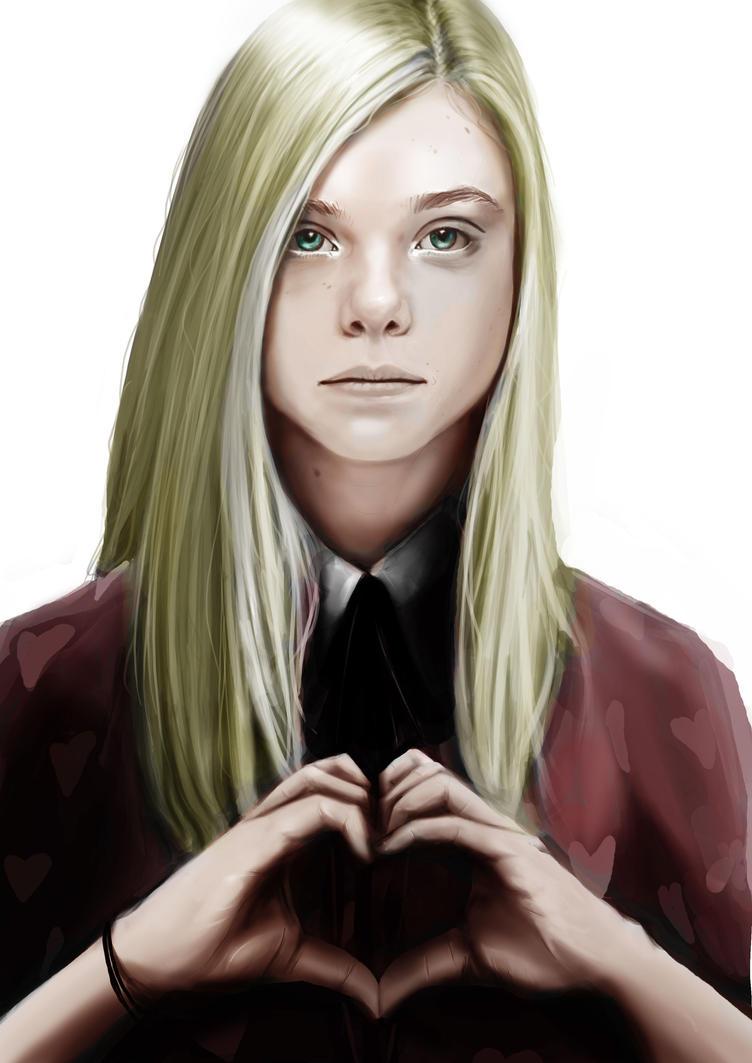 Queen Of Hearts in collor by kilenator
