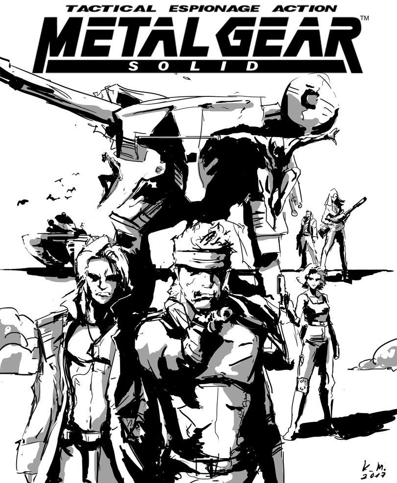 Metal Gear Solid by kilenator