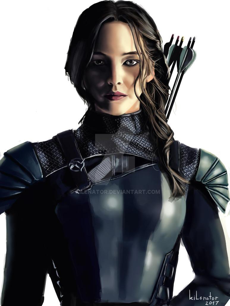 Katniss by kilenator