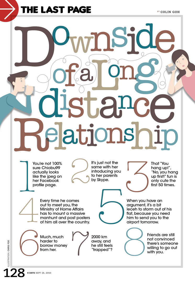 an analysis of the issues on long distance relationships Long distance relationships despite all the difficulties and  in the loneliness of the long-distance runner, many of the issues hold  relationship analysis.