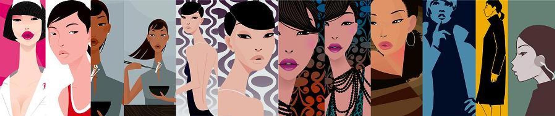 girls by mokoo