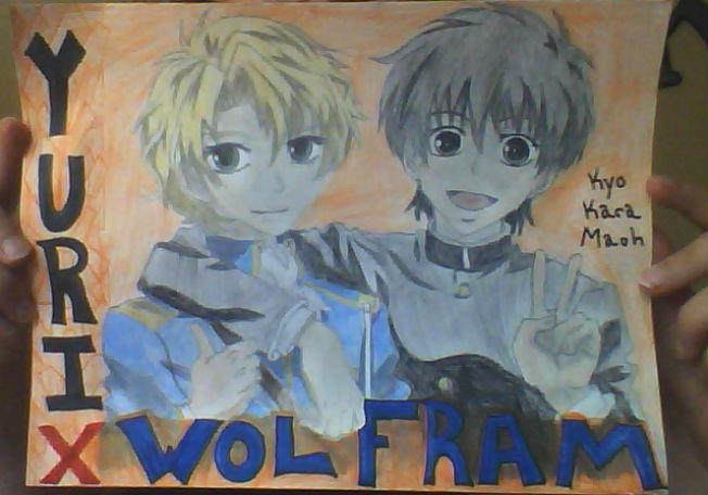 Yuri x Wolfram by AnimeMusic333