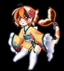 [Gift] Short Kimono Chibi Ryuu