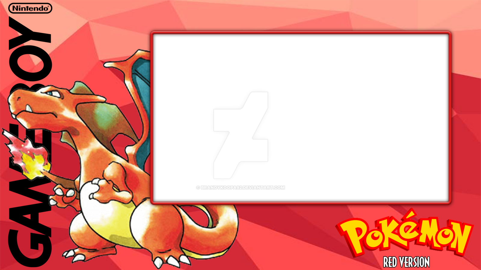 Pkmn red layout by BrandyKoopa92