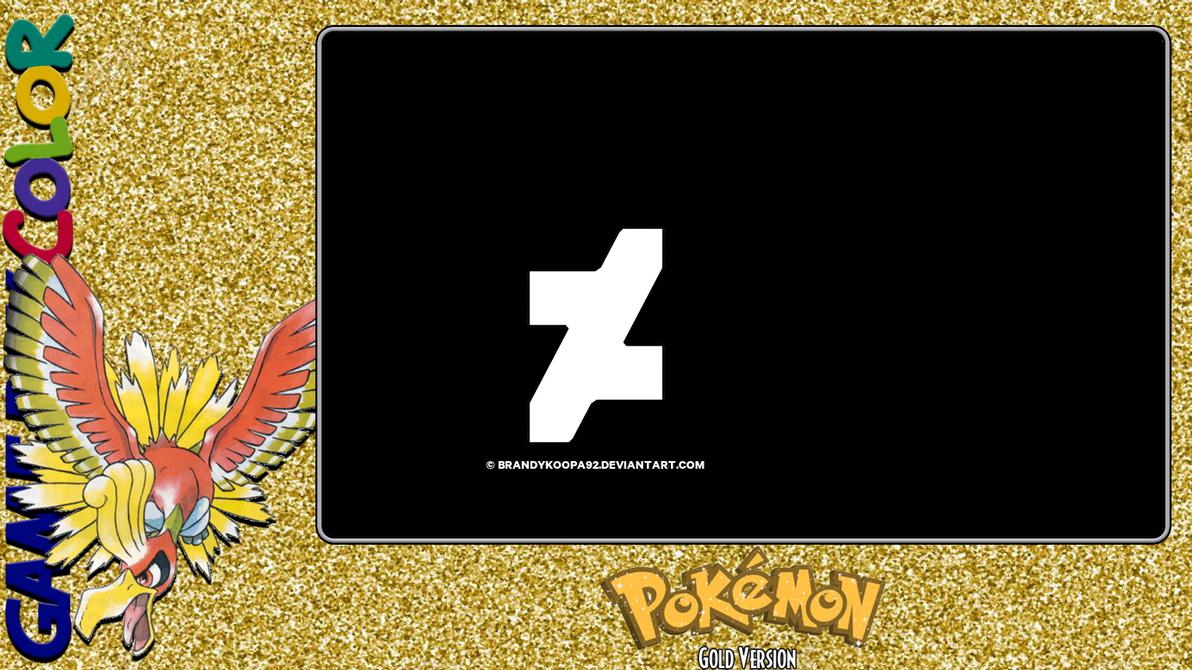 Pokemon Gold Layout by BrandyKoopa92