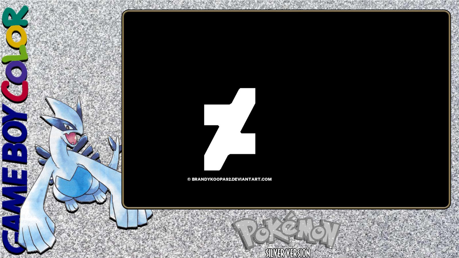 Pokemon Silver Layout by BrandyKoopa92