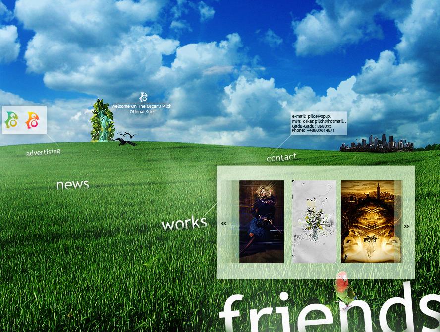 Portfolio v3.0 by w1zzy