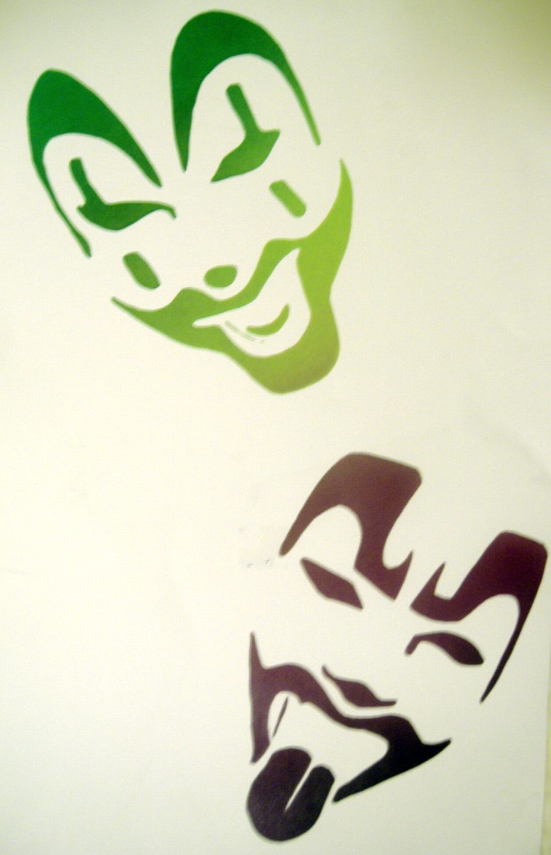 Icp Face Paint Design