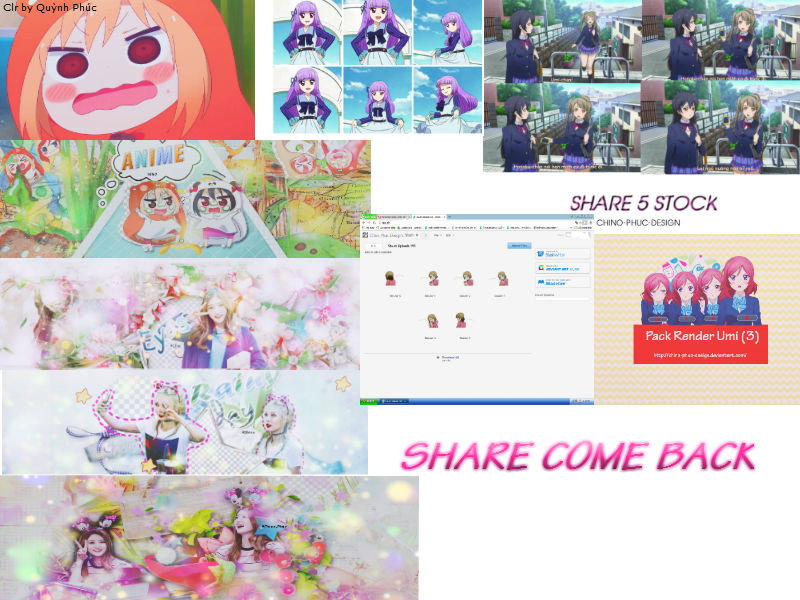 Share Come Back by Chino-Phuc-Design