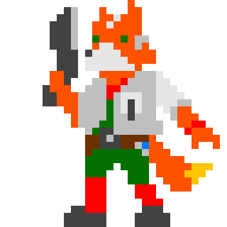 Fox McCloud by Urthstripe29