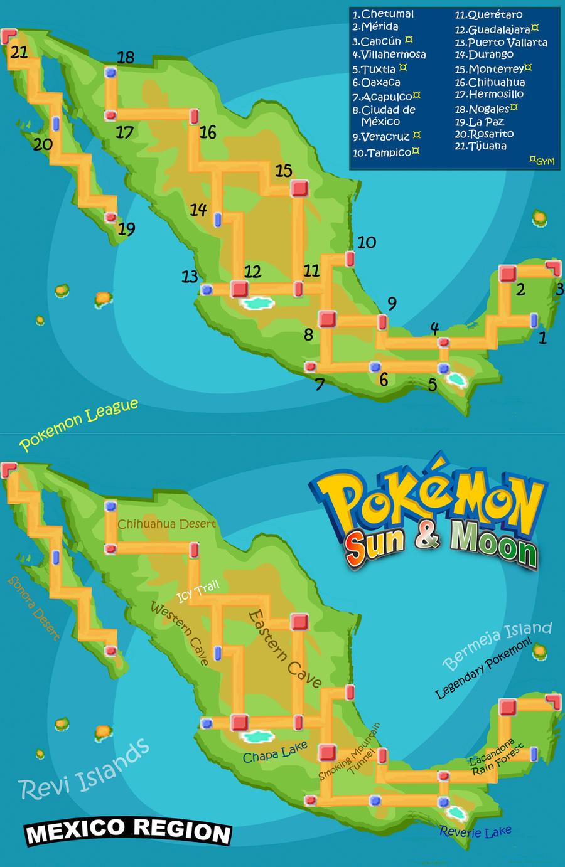 Mexico Region By Shrinking12 On Deviantart