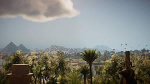 Assassin's Creed Origins Egypt's skies