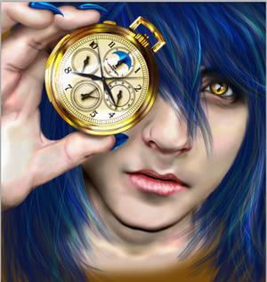WIP: Azeth the blue demon