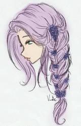 Elisse (Colored Version) by veraalyanna