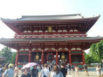 Hozomon gate by greywind-photos