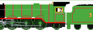 TVS Old Shape Henry but realistic