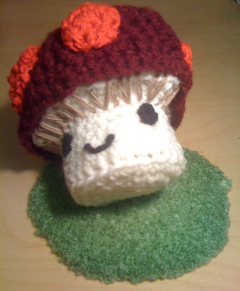 Amigurumi Mushroom Crochet Patterns : Amigurumi Mushroom by jigglytofu on deviantART