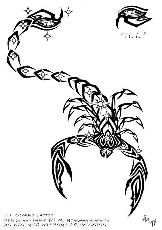 2008: iLL Scorpio Tattoo - chest tattoo