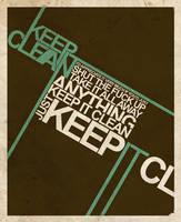 keepITclean by skryingbreath