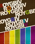 ROY G. BIV by skryingbreath