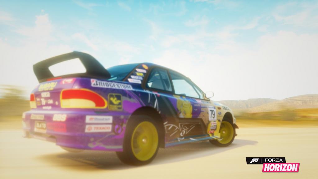 Subaru 22b Rally Forza Horizon Subaru 22b