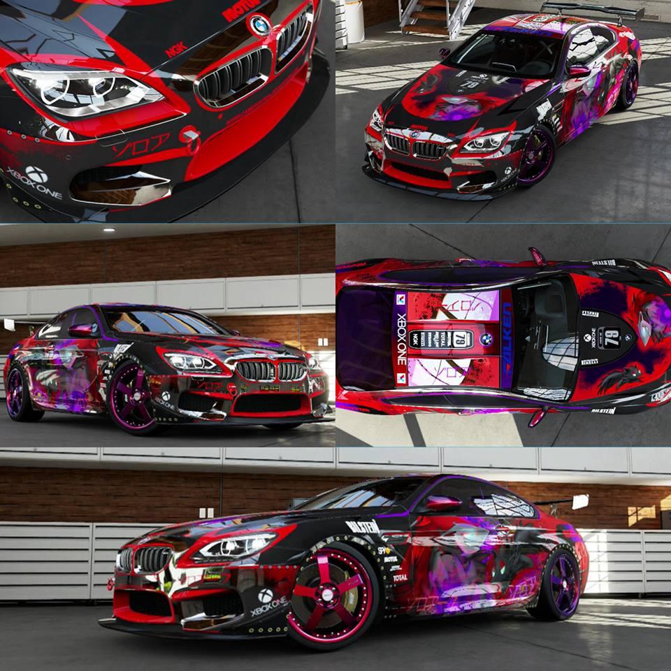 Forza 5 Zoroark/Zorua BMW M6 by Cameron7954