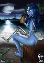 Corpse Bride - Beach Weather by Aphius