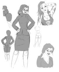 Punk Biz Sketches