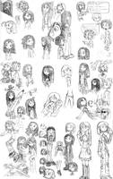 Sketchbook Compilation by Aphius