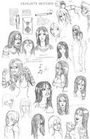 Charlotte Sketches 01 by Aphius