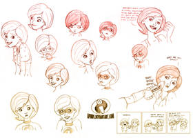 Helen Parr Sketches II by Aphius