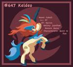 Keldeo: Favorite Fighting Type