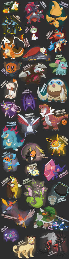 My Favorite Pokemon (Halloween Edition)