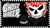 Chibi Ghost Rider stamp by Gabbyartisto3o