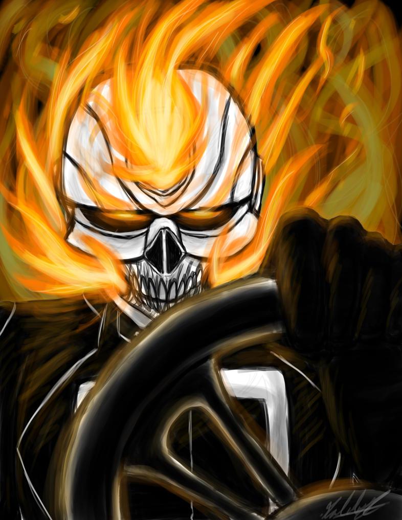 All New Ghost Rider by Gabbyartisto3o