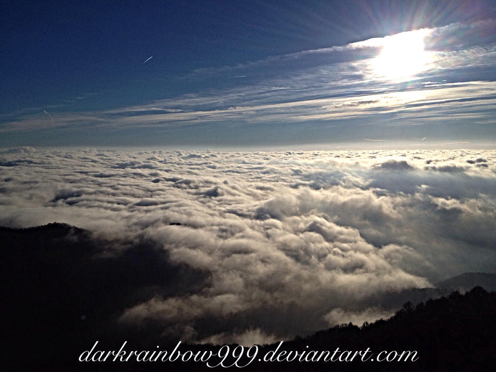 Sky over Clouds by darkrainbow999