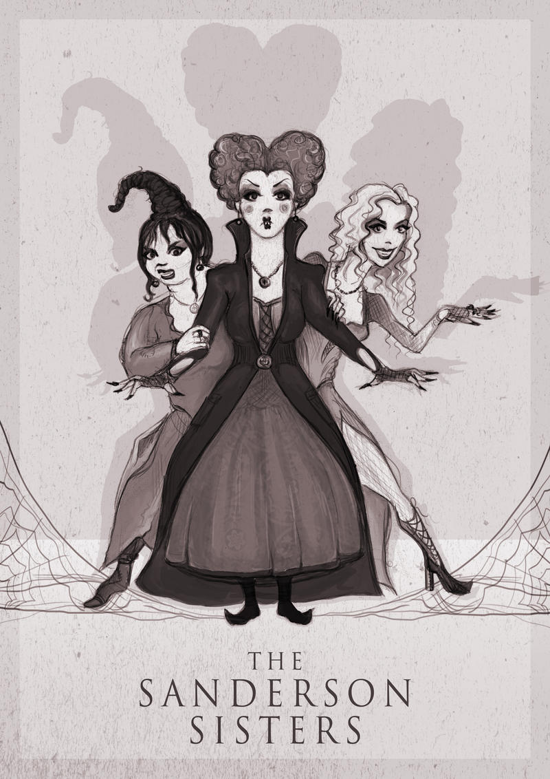 The Sanderson Sisters by ThePea on DeviantArt