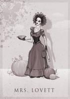 Mrs. Lovett by ThePea