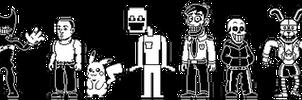 Random - Characters Battle Sprites