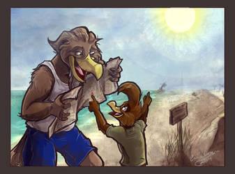 Treasure Hunt by Daroneasa