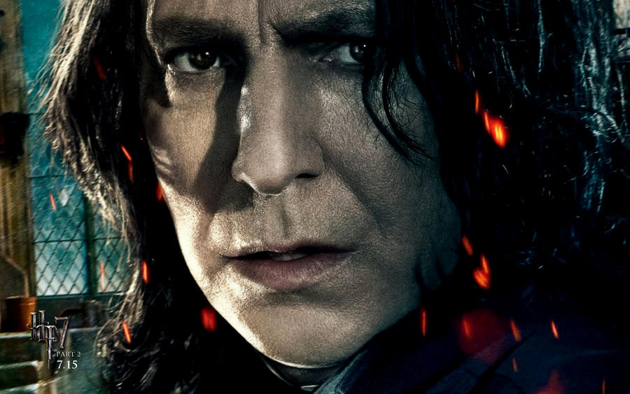 harry potter 7 part 2 wallpaper. Hp7 Part2 Wallpaper snape by